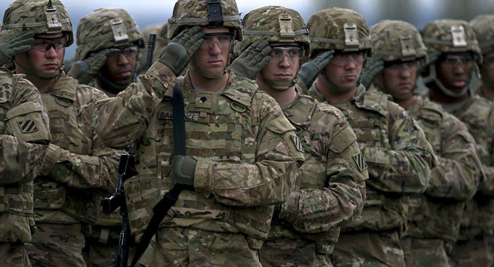 Soldados americanos em exercício militar (arquivo)