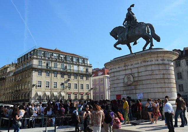 Manifestações em Lisboa (Portugal)