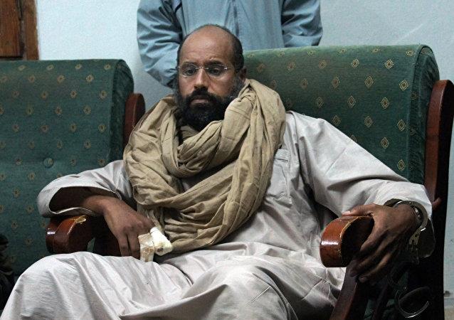 Seif islam, filho de Muammar Gaddafi