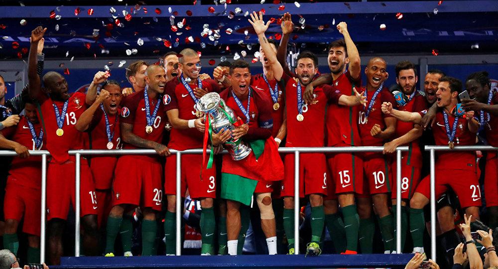 Portugal comemora conquista da Euro 2016