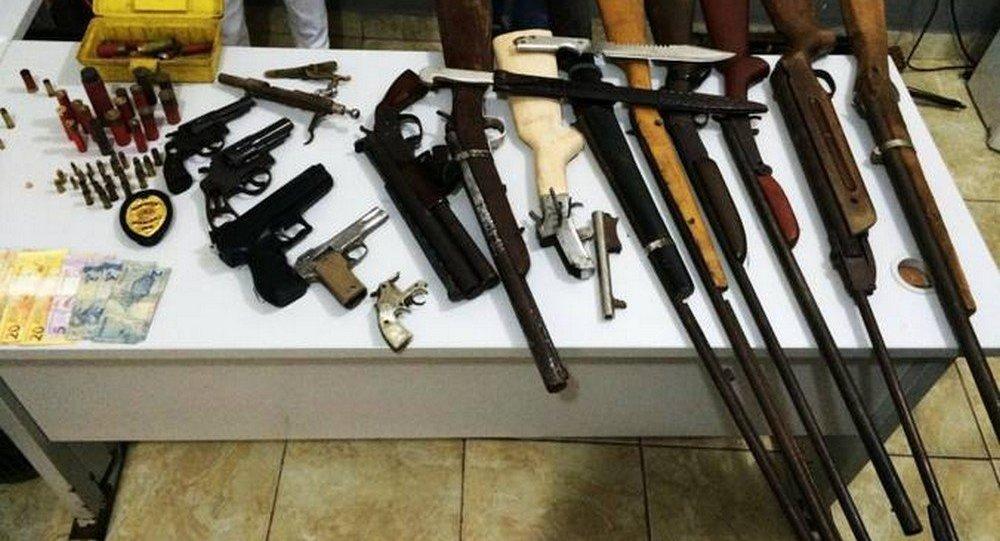 Projeto propõe doação de armas apreendidas em operações para órgãos de segurança do país