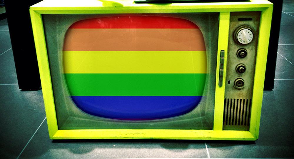 A televisão gay