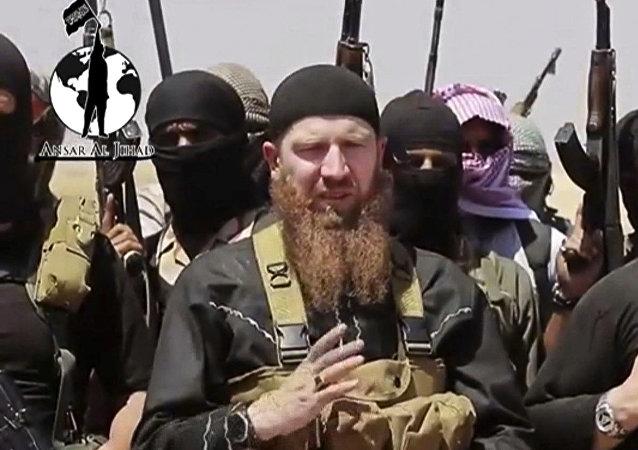 Tarkhan Batirashvili (mais conhecido como Abu Omar al-Shishani)