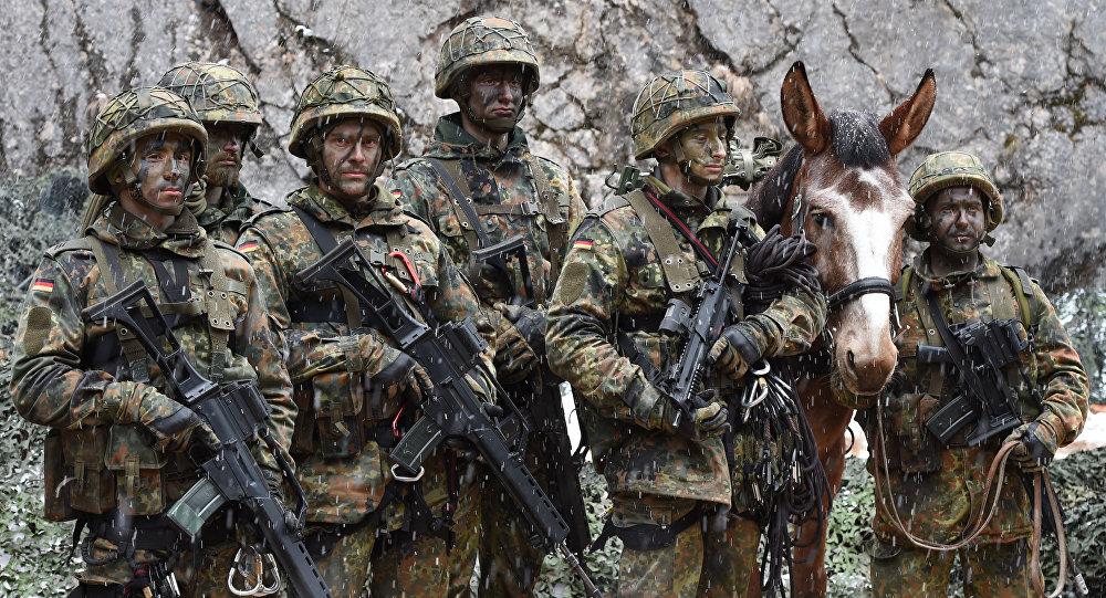 Infantaria alpina da Alemanha