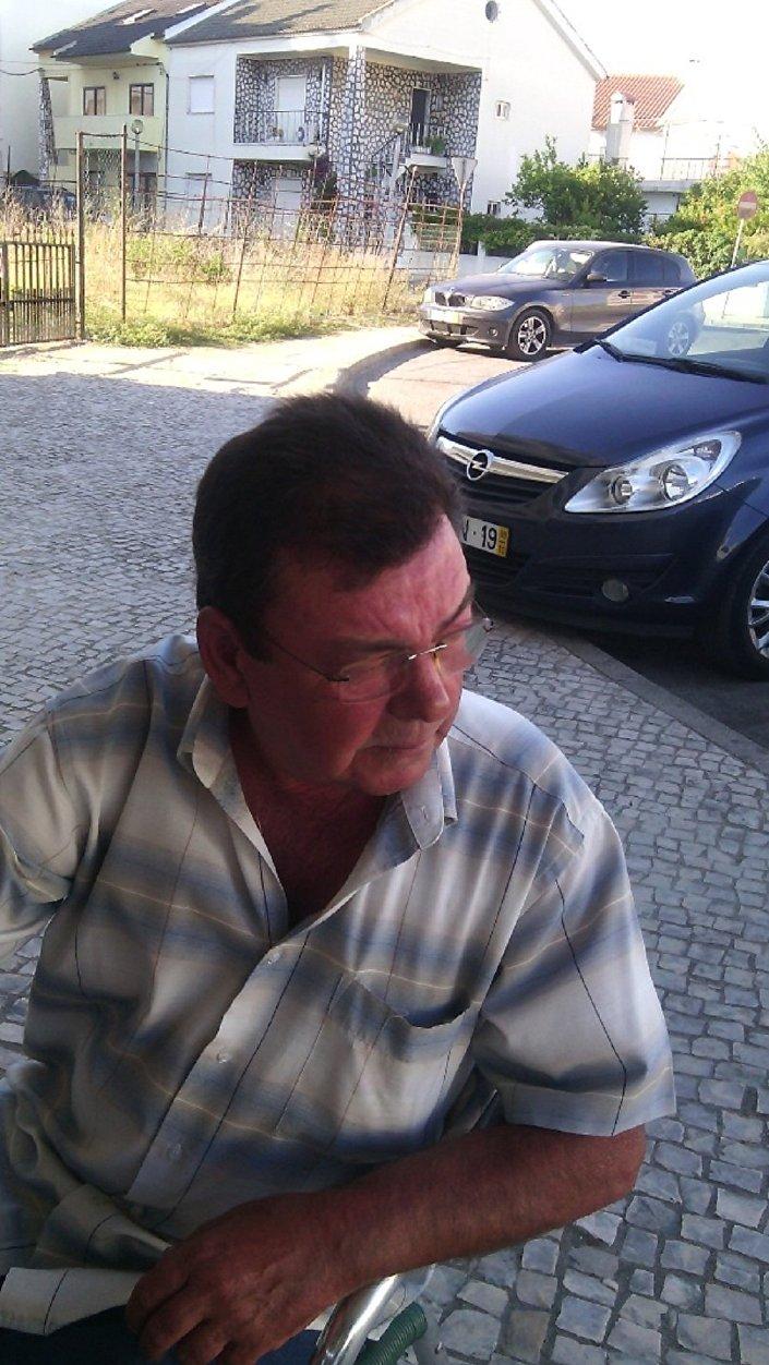 António Ramos, aposentado português