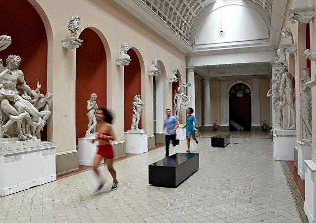 Exposição Intervenções entre XIX e XXI no Museu Nacional de Belas Artes do Rio (imagem de arquivo)