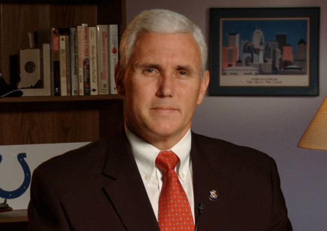 Mike Pence, governador de Indiana (EUA)