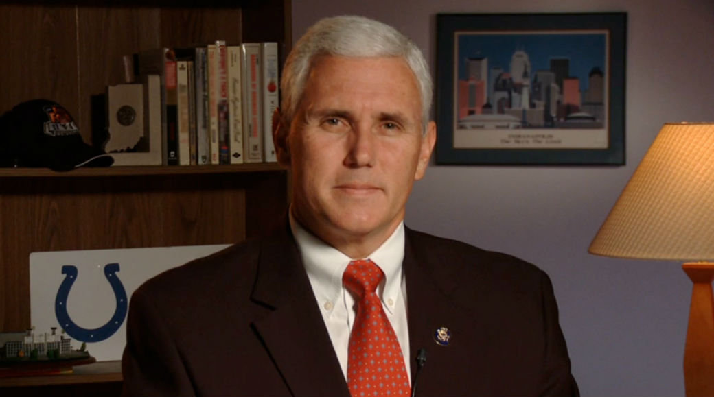 Mike Pence, governador de Indiana (EUA)