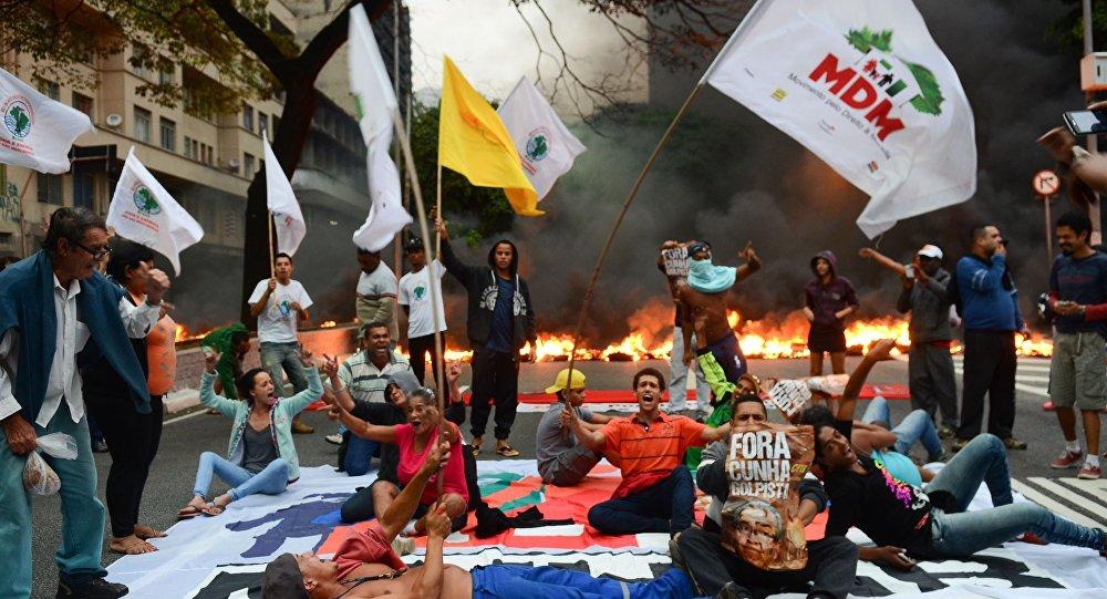 Manifestação em SP