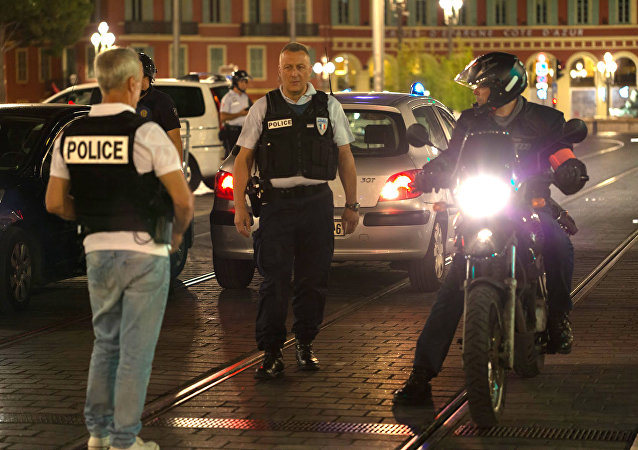 Polícia francesa em Nice