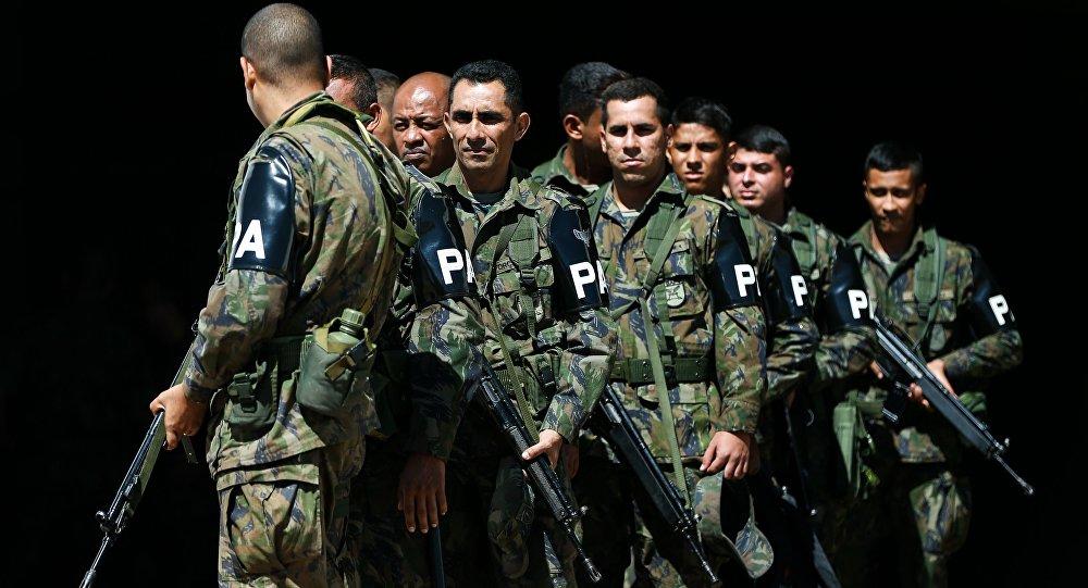 Militares que farão a segurança nos Jogos Olímpicos Rio 2016