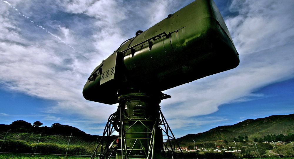 Radar norte-americano LOPAR (foto de arquito)