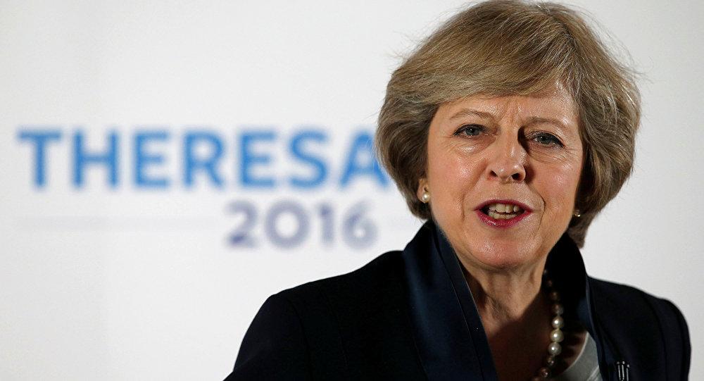 Primeira-ministra britânica Theresa May