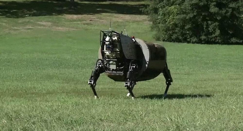 Robô-animal da Marinha dos EUA AlphaDog