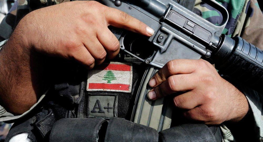 Soldado do Exército do Líbano em Tripoli, em 27 de outubro de 2014