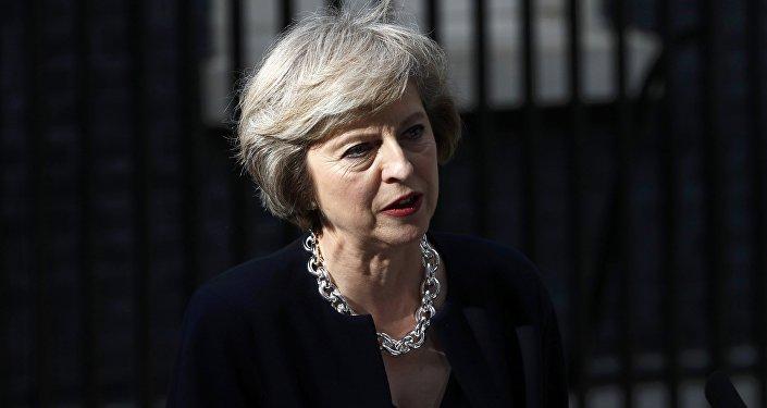 Primeira-ministra da Grã-Bretanha Theresa May