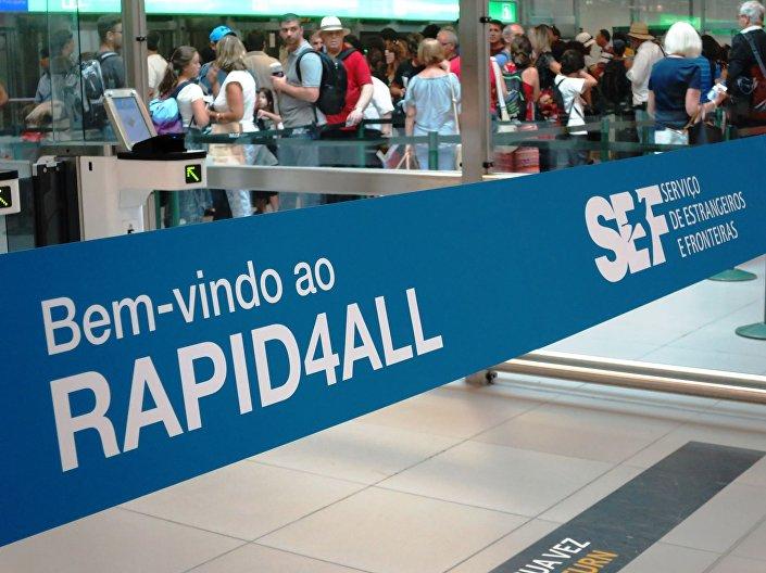 Lançamento do Rapid4all no aeroporto de Lisboa
