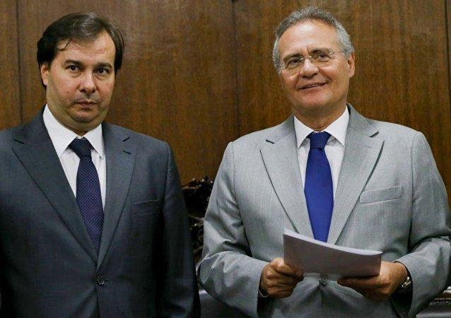 Rodrigo Maia e Renan Calheiros estão entre os citados na delação de Cláudio Melo Filho, ex-diretor da Odebrecht