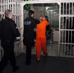 Operação policial realiza transferência de presos para penitenciárias Federais