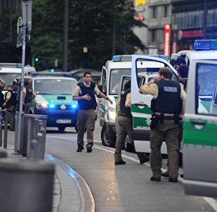 Polícia alemã faz segurança após tiroteiro em Munique