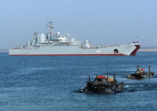 Os exercícios militares Sea Breeze, foto de arquivo