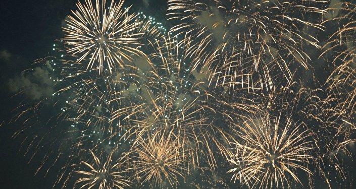 No âmbito do II Festival de Fogos de Artifício realizado em 23-24 de julho foram lançados 25 tonaladas de pirotecnia