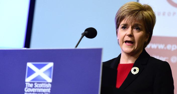 Nicola Sturgeon, primeira-ministra da Escócia