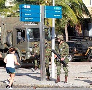 Forças Armadas reforçam a segurança no Rio para os Jogos