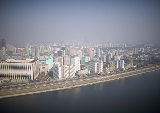 Cidade de Pyongyang, capital da Coreia do Norte (arquivo)
