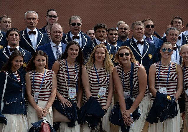 A seleção olímpica da Rússia