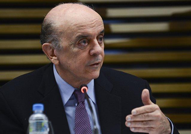 José Serra no México