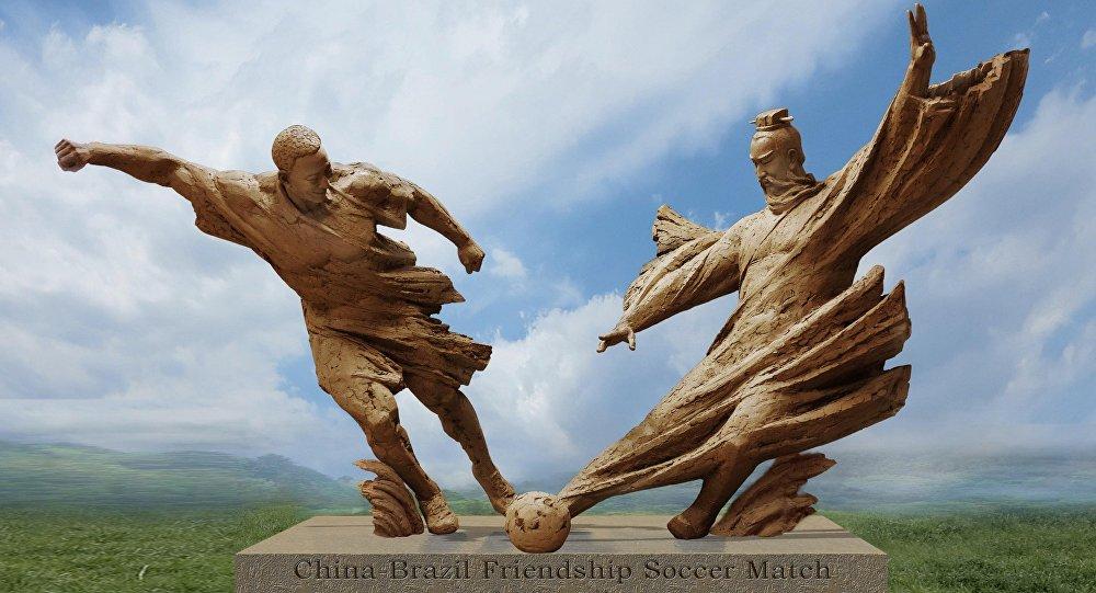 Governo chinês presenteia o Rio com monumento que celebra 30 anos de irmandade com a cidade
