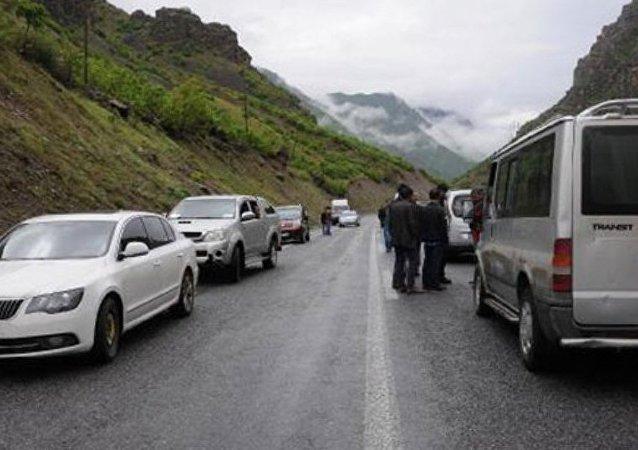 Estrada Hakkari-Cukurca, na Turquia (arquivo)