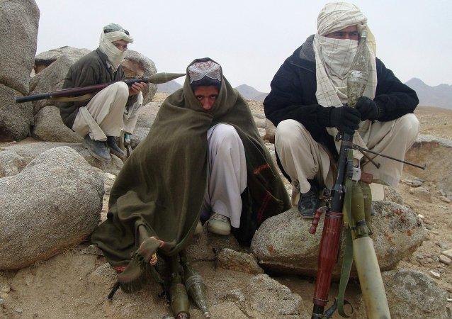 Membros do grupo radical Talibã (arquivo)