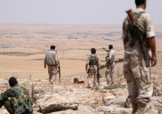 Província de Aleppo, na Síria
