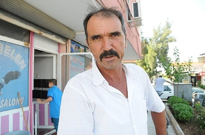 Halil Yildirim, um residente da região turca de Adana