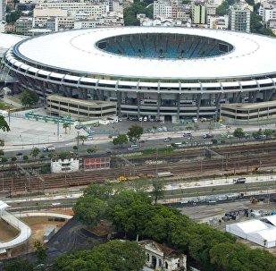 Tudo pronto no estádio do Maracanã para receber a festa de abertura dos Jogos Rio 2016