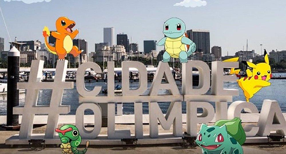 Prefeitura do Rio comemora no Twitter o lançamento do Pokémon GO no Brasil antes das Olimpíadas