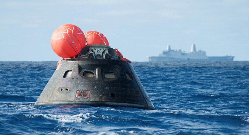 NASA testa amerissagem da nave espacial Orion