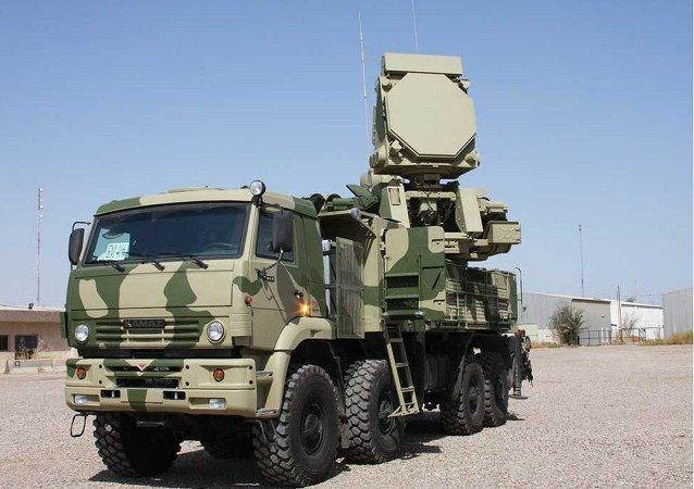 Sistema de artilharia antiaérea Pantsir-S1