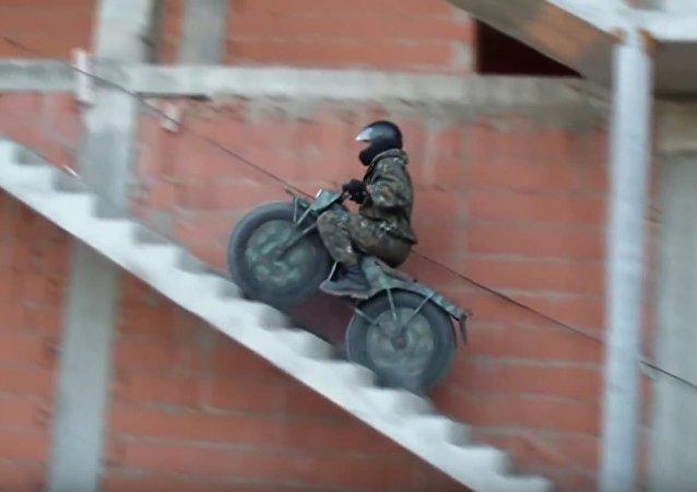 Motocicleta todo-terreno