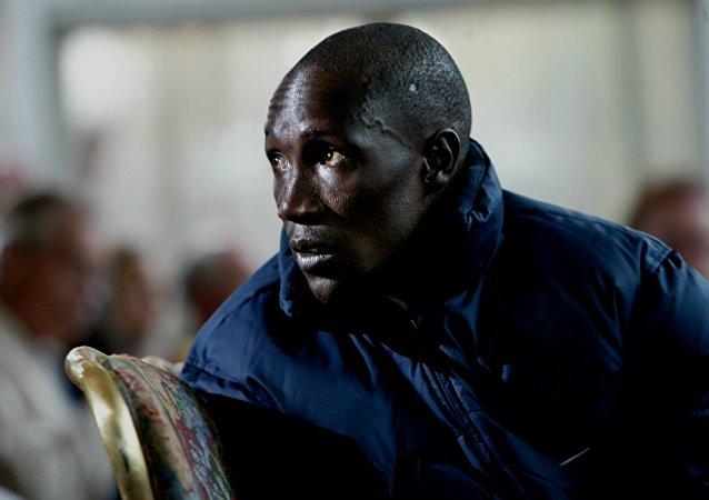 Michael Rotich, treinador da equipe de atletismo do Quênia