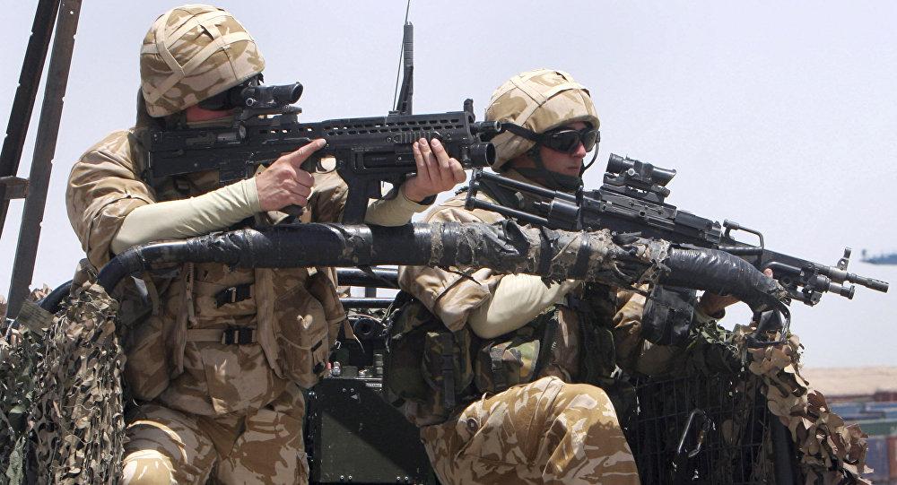 Soldados britânicos atuando na Síria (arquivo)