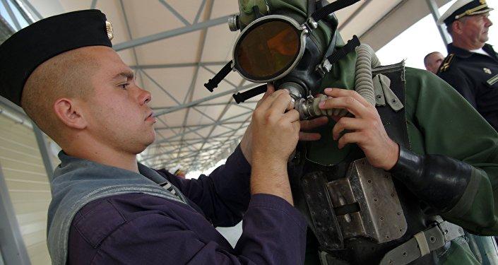 A competição Profundidade, que faz parte dos Jogos Militares Internacionais