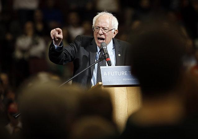 Senador americano Bernie Sanders
