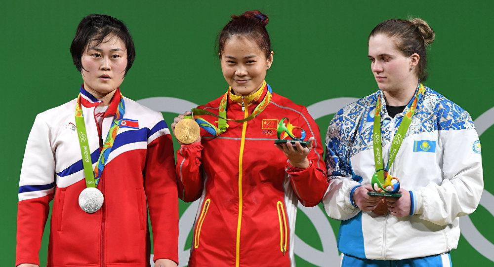 Prata foi para a Coreia do Norte e o bronze para o Cazaquistão