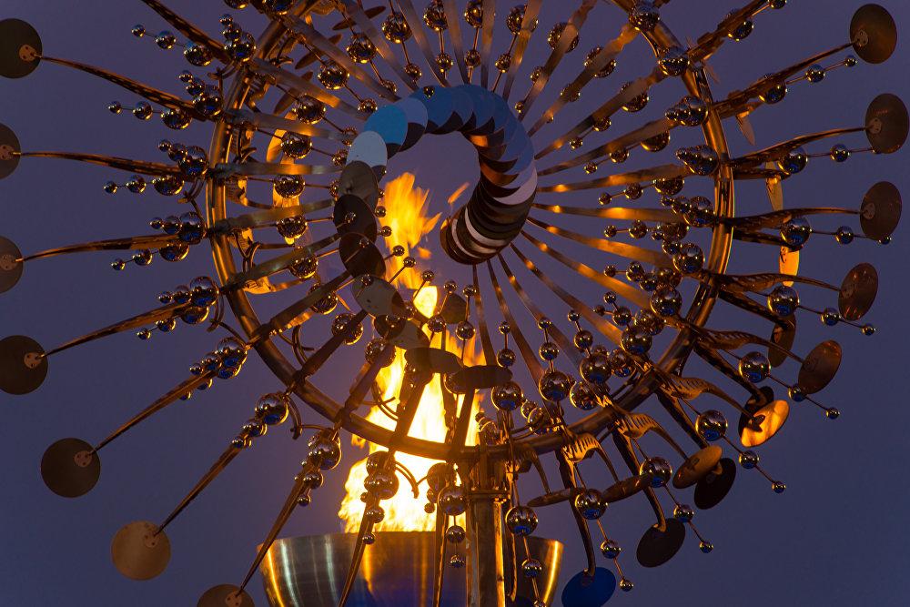 Pira Olímpica da Candelária é a nova atração no Centro do Rio