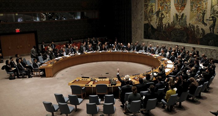 Reunião do Conselho de Segurança da ONU em Nova York