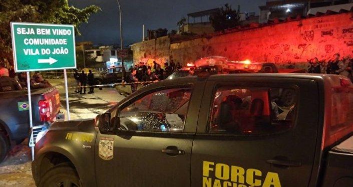 Após ataques à militares, Agentes da Força Nacional ocupam Complexo da Maré