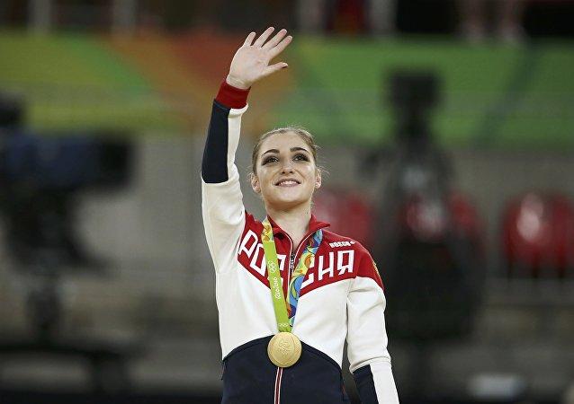 Ginasta russa Aliya Mustafina